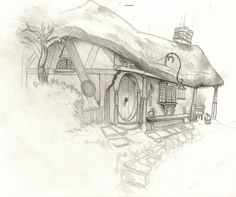Don't know who drew this, but I love it! #hobbit