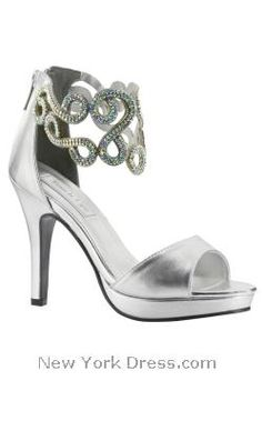 Wow-factor pumps with swirled ankle cuffs by Benjamin Walk SATURN