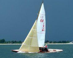 1934 Erik Nilsson 22 Square Metre/ Skerry Racer Cruiser Sail Boat
