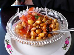 Ceviche with tostado