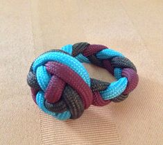 There are probably several ways to make a paracord ring, this is one option. I`ll be trying to come up with another designs.This may be a great gift idea.Enjoy