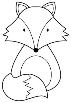 Animal Coloring Pages, Free Coloring Pages, Felt Crafts, Paper Crafts, Art For Kids, Crafts For Kids, Christmas Tree Template, Preschool Christmas Crafts, Animal Templates