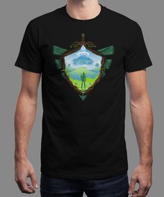 """""""Legend Begins"""" is today's £9/€11/$12 tee for 24 hours only on www.Qwertee.com Pin this for a chance to win a FREE TEE this weekend. Follow us on pinterest.com/qwertee for a second! Thanks:)"""