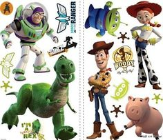 Disney Toy Story Kids Room Vinyl Wall Art Sticker Decal - BUY NOW ONLY 14.99