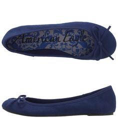 blue American EagleWomen's Flash Flat fits into my granddaughters weekend wardrobe and budget. peyless.com