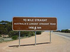 The Nullabor desert, Australia