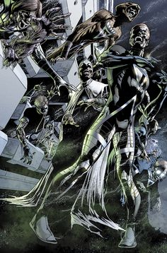 Green Lantern Comics, Black Lantern, Dc Comics, Horror Comics, Comic Villains, Batman, Cosplay, Comic Book Heroes, Comic Books