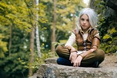 Character: Cirilla Fiona Elen Riannon (aka Ciri) / From: Andrzej Sapkowski's 'The Witcher' Short Stories and Novels & CD Projekt RED's 'The Witcher' Video Game Series / Cosplayer: Yana Pidboljachna