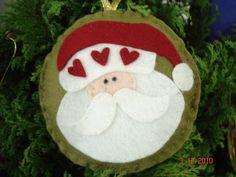 Felt Santa Claus
