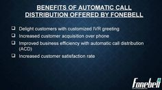 What are the Benefits of Automatic Call Distribution - Fonebell