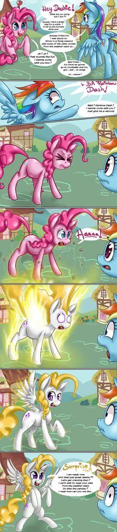 Pinkie Pie's hidden Talent by StarlightSpark.deviantart.com on @deviantART