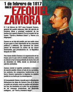 Ezequiel ZamoraPalabras del Director del portal revistacaracola.com.ve Humberto Gómez García en la famosa Esquina Caliente (Monjas) de la Pla