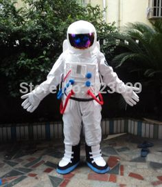 Spacesuits Mascot Doll Clothes Anime Clothes Astronaut Show Props Mascot Costume Spaceman Free Shipping