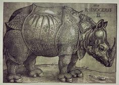 EL RINOCERONTE - 1515 - RENCIMIENTO ALEMAN., 16 16TH XVI XVITH SIXTEENTH CENTURY, 16TH CENTURY, ALBERTO DURERO, ALBRECHT DUERER, ALBRECHT DURER, ANIMAL, ANIMALS, BRITISH MUSEUM, DURER, ALBRECHT, DURERO, ALBERTO, DüRER'S SIGNATURE, England, Engraved, Engraving, ENGRAVING., ENGRAVINGS, Etching, GERMAN RENAISSANCE ENGRAVING, HORNS, London, RENAISSANCE ENGRAVING