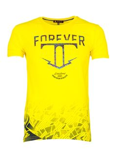 Желтая футболка мужская Rvvaldi rf-2020-67 в интернет магазин Sergo-Style 5e0a38e8e44