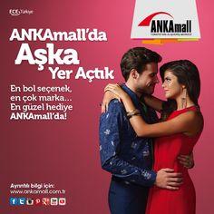 En bol seçenek, en çok marka.. En güzel hediye #ANKAmall'da!