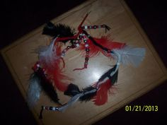 Indian Feather Clip hair barrette Bobby Pin by NAESBARGINBASEMENT, $8.00