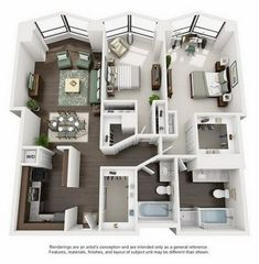 Check for available units at North Harbor Tower in Chicago, IL. View floor plans, photos, and community amenities. Make North Harbor Tower your new home. House Layout Plans, Modern House Plans, Small House Plans, House Layouts, House Floor Plans, Sims 4 Houses Layout, Bedroom Floor Plans, Home Design Floor Plans, Floor Plans