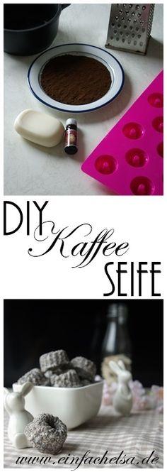 Auf der Suche nach dem passenden Geschenk, habt ihr da schon mal an selbstgemachte Seife gedacht? Ich hab hier Kaffeeseife mit Peelingeffekt und Wunschduft.