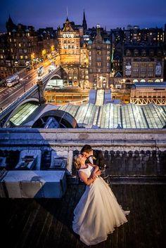 Balmoral wedding Edinburgh   Vanishing Moments Photography