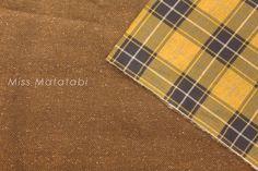 Japanese Fabric Corduroy   reversible herringbone by MissMatatabi, $8.00