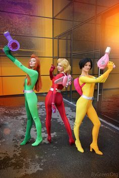 Totally Spies, Cosplayers: Clover, Alex, Sam, Photo: ByGreen.Org