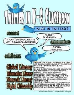 An excellent guide to Twitter in K-8 classrooms