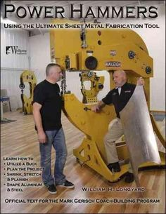 As more and more fabricators consider the purchase of a power hammer there comes the need for a book explaining which hammer to buy and how best to use this fabricators super tool. Color: Metal.