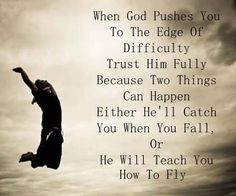 """Proverbs 3:5-6 """"Trust in the Lord with all thy heart and lean not on thy own understanding in all thy way acknowledge him and he shall direct thy path"""""""