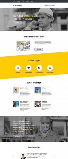 Architecture website inspirations at your coffee break? Browse for more Moto CMS HTML #templates! // Regular price: $139 // Sources available:<b>Sources Not Included</b> #Architecture #Moto CMS HTML