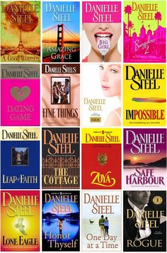 I have read every book of hers and have them in my library.  The are quick reads and an escape :0)