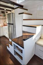 Clever Tiny House Loft Stair Ideas (32)