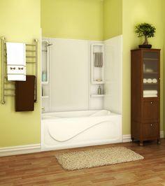 MAAX Tub Installation TSTEA60 Alcove or Tub showers bathtub