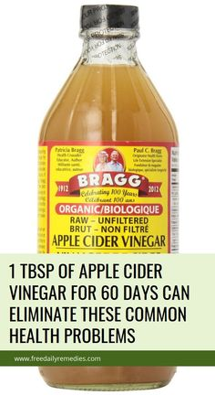 1 Tbsp Of Apple Cider Vinegar For 60 Days Can Eliminate These Common Health Problems Natural Teething Remedies, Natural Cough Remedies, Herbal Remedies, Natural Cures, Health Trends, Health Tips, Health And Wellness, Health Care