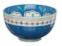Bowl Folk Azul 13 cm Sarah Miller $4.990