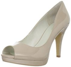 With it sleek, classic lines and alluring high heel, the Danee platform pump brings a chic accent to a flirty dress and a serves as the perfect partner to sexy denim. It features a leather or fabric upper with an open to show off your pedicure and a textured outsole to keep you grounded despite the height. Price $79.00
