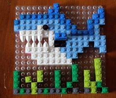 3D Lego Art for the Ever Expanding Nursery Gallery Wall -