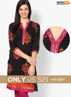 Kurtis Sale at Jabongworld! SHOP HERE---> http://www.jabongworld.com/women/kurtis.html?dir=desc&order=bestsellers&?utm_source=ViralCurryOrganic&utm_medium=Pinterest&utm_campaign=KurtisBestsellers-27Dec  Hurry!! The offer ends soon.