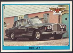 Panini Super Auto 1977 Sticker - No 61 - Vintage Car - Bentley T | eBay