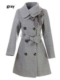 LANHUACAO Women Wool Blends Coat Slim Trench Winter Coat Long Jacket Outwear www.be warm winter, we need warm coat ,so mordern down coat, my best loved moncler. Long Jackets, Outerwear Jackets, Winter Jackets, Winter Coats, Long Coats, Foto Blog, Cute Coats, Double Breasted Coat, Mode Outfits