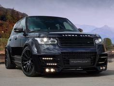 Range Rover Lumma CLR-R Black