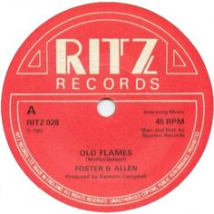 """7"""" 45RPM Old Flames/Oslo Waltz by Foster"""