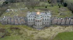 Mansion abandoned during construction.....No reason as to why was given~