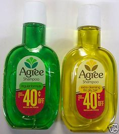 Remember Agree shampoo? It was great for oily hair especially.