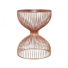 Pols Potten Wire Dumbbell Stool Copper
