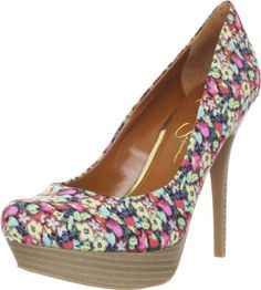 $79.00-$79.00 Jessica Simpson Women's Js-Given2 Pump,Multi Floral,7.5 M US - Strike a stylish pose in this supple Jessica Simpson pump. The Given 2 brings you a flower fabric upper with a 1 inch platform and 4 1/2 inch heel height. You can't go wrong with this genius style, you'll look amazing all day! http://www.amazon.com/dp/B0061IMGPM/?tag=icypnt-20