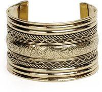 Latest metallic ethnic cuff-bracelets best for evenings online via Brass Cuff, Silver Cuff, Cuff Bracelets, Bangles, Indian Festivals, Affordable Fashion, Ethnic, Stuff To Buy, Shopping