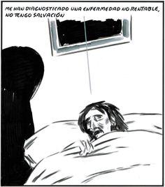 Me han diagnosticado una enfermedad no rentable (El Roto, 2012-11-30)