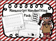 Manuscript Handwriting Pack- Tracing, Writing, Finding, Coloring from EasyPeasyLemonSqueezy on TeachersNotebook.com -  (28 pages)  - Manuscript Handwriting Pack- Tracing, Writing, Finding, Coloring  Includes 26 pages Each page contains: uppercase and lowercase letter to trace spaces to write the upper and lower case letters 'find the letter' box 'color the picture that b