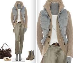 Комплекты из коллекции осень-зима 2011/12 от Brunello Cucinelli — FASHION DETAILS